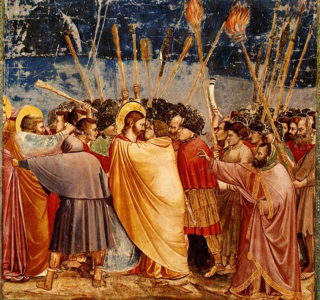Gesù, Cristianesimo, Chiesa Cattolica e Omosessualità: una riflessione critica Giotto-Il-bacio-di-Giuda
