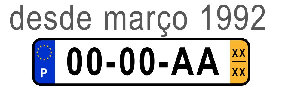 Matrículas  Matricula_Mar%C3%A71992