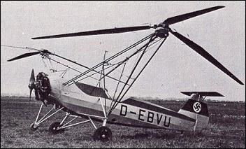 planador waco Focke_wulf61