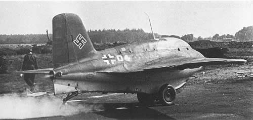planador waco Me163b