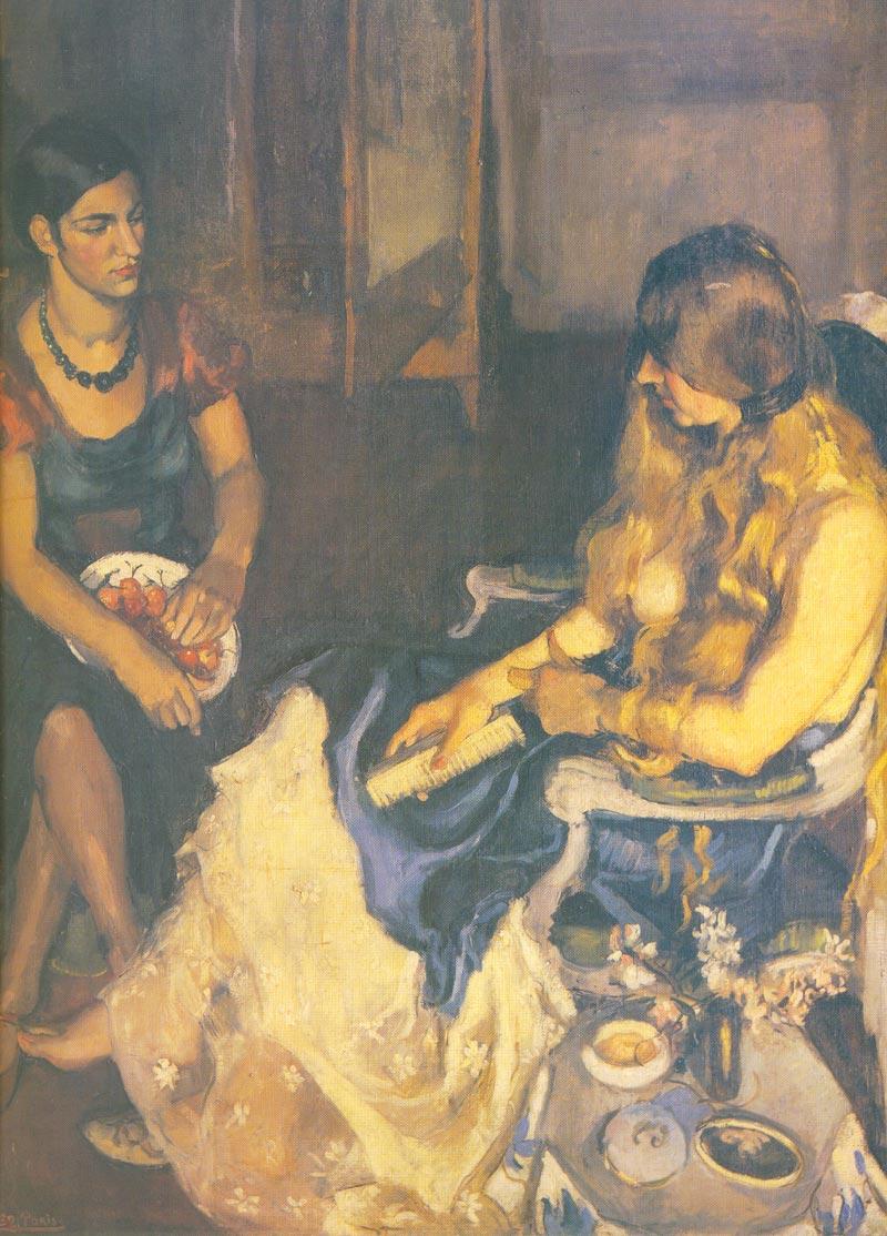 Indijska umetnost Amriti_Young_Girls