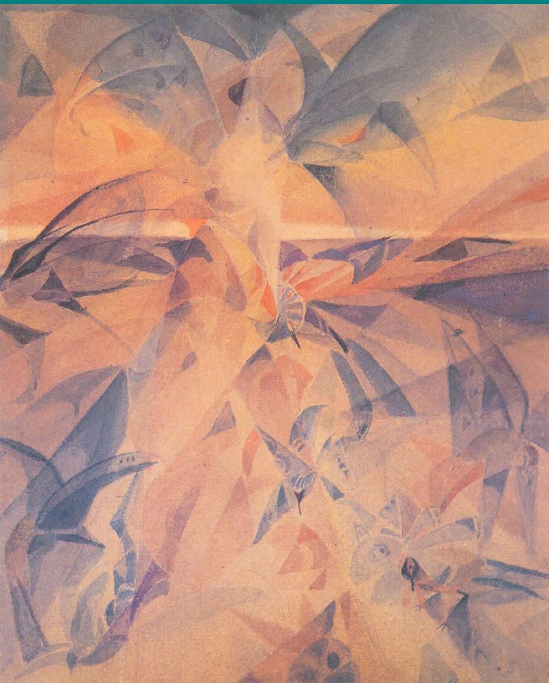 Indijska umetnost G_Tagore_Tagore_Birds