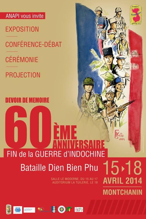 15 avril : documentaires en avant-première sur la guerre d'Indochine à l'École militaire Event01a