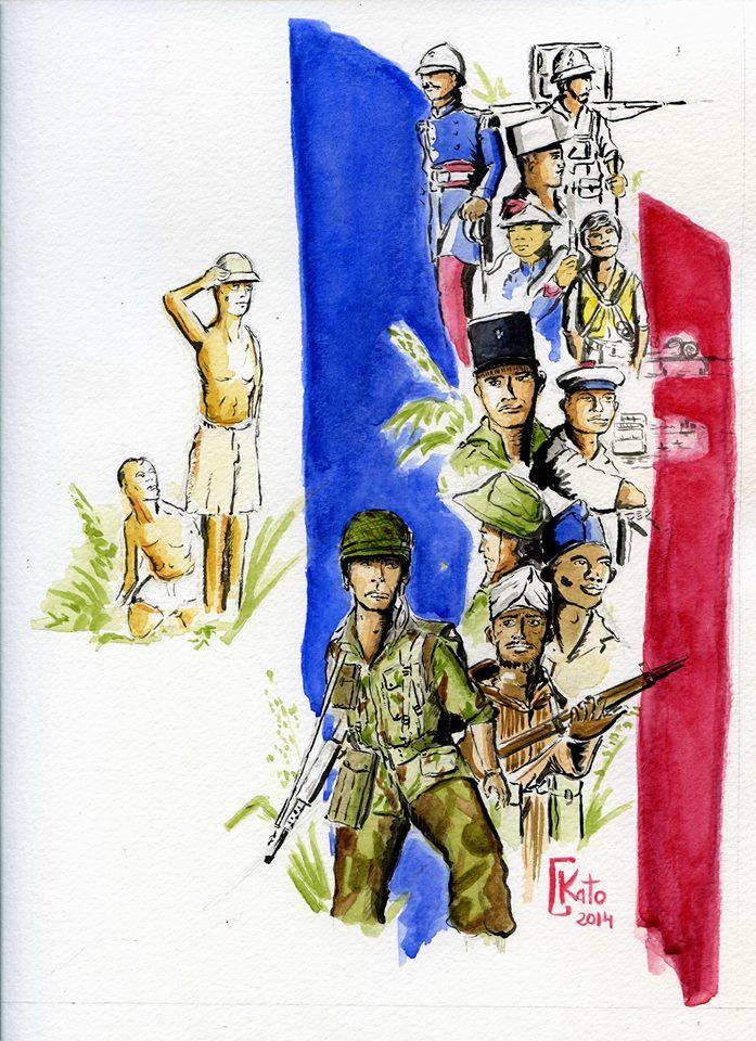15 avril : documentaires en avant-première sur la guerre d'Indochine à l'École militaire Event01b