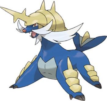 Pokemon no hecho por mi Samurott