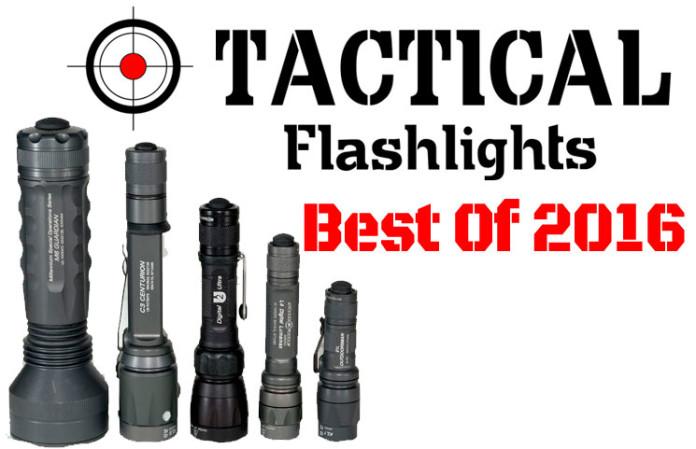 Las mejores Linternas Tácticas de 2016 Tactical-Flastlights-2016-696x449
