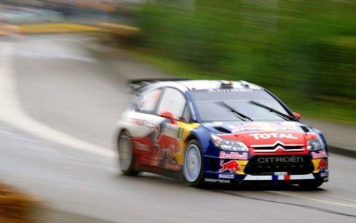 [HELLER] CITROEN C4 WRC '10 - 1/24e ref : 80756 Rallye-alsace-rallye-france-credit-mutuel