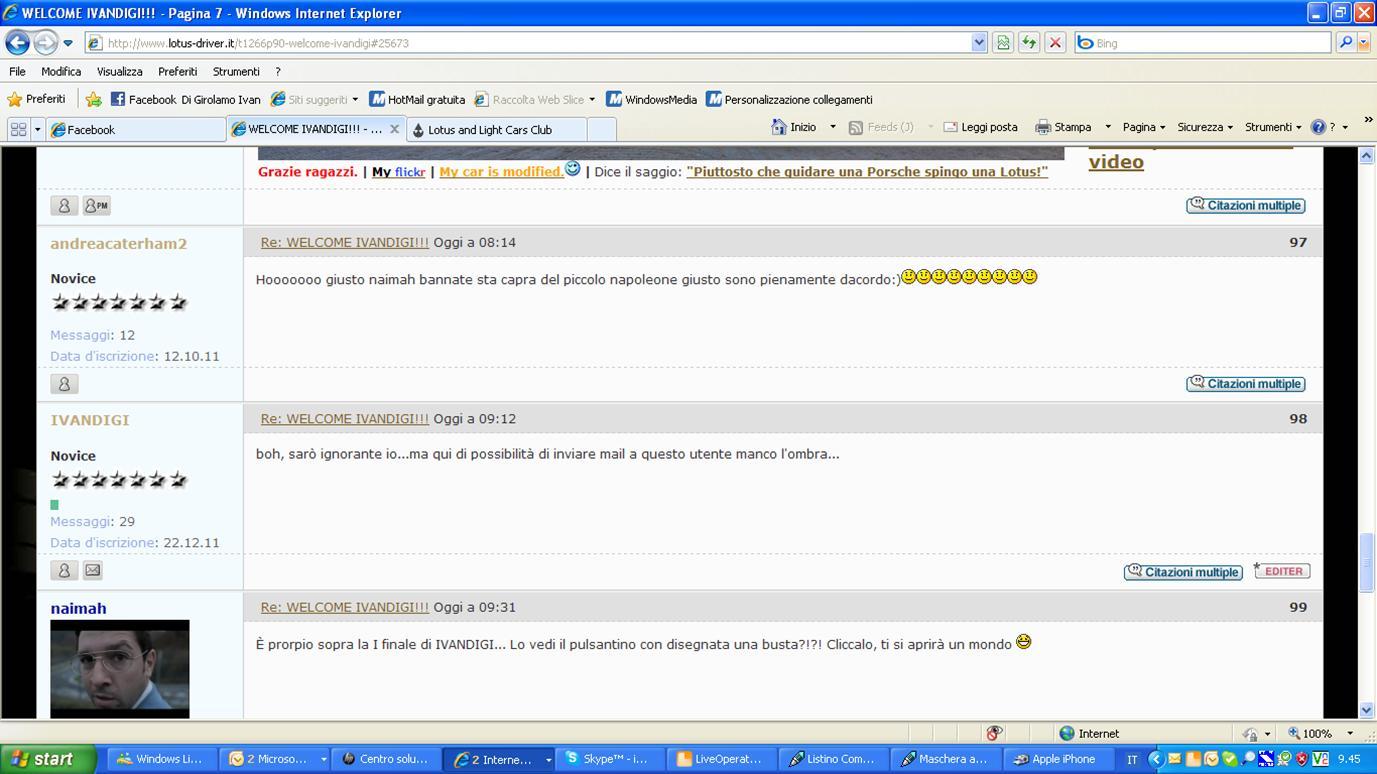 WELCOME IVANDIGI!!! - Pagina 5 Forum