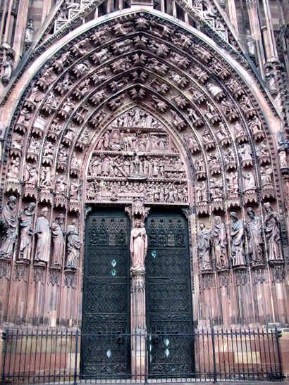 Tellurisme  de BRETAGNE Cathedrale-strasbourg_12