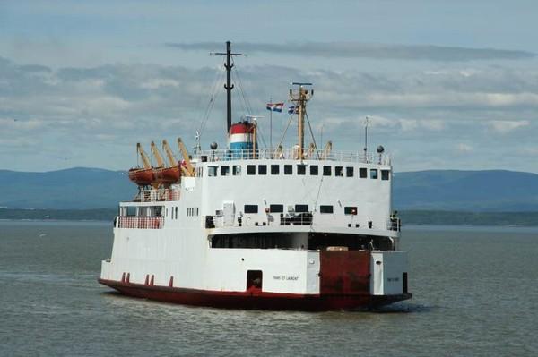 Canada – Un voyage de Québec vers la Gaspésie a travers les paroisses au 19 eme siècle Clarke-traversier-trans-st-laurent-marc-harvey-stq