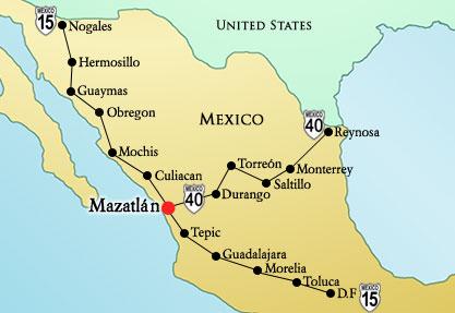 México... Lindos rinconcitos Mapa2