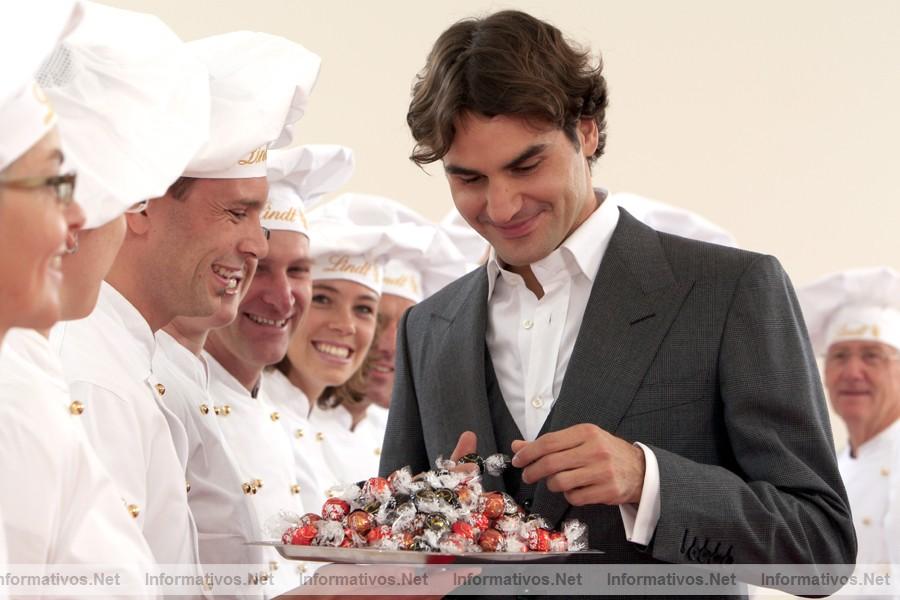 Roger patrocina Federer%20y%20Lindt%201