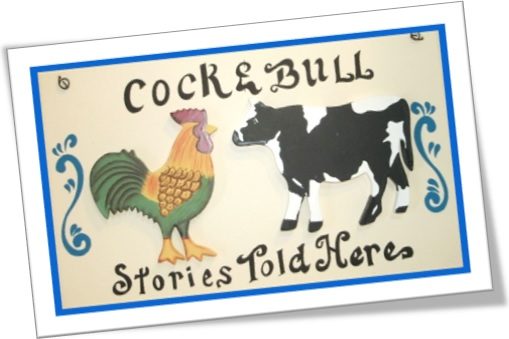The Cat's Pyjamas Cock-and-bull-stories-told-here