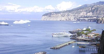 Croisière sur l'Adriana,Istanbul,lesIles grecques,l'Italie Sorrento_baia