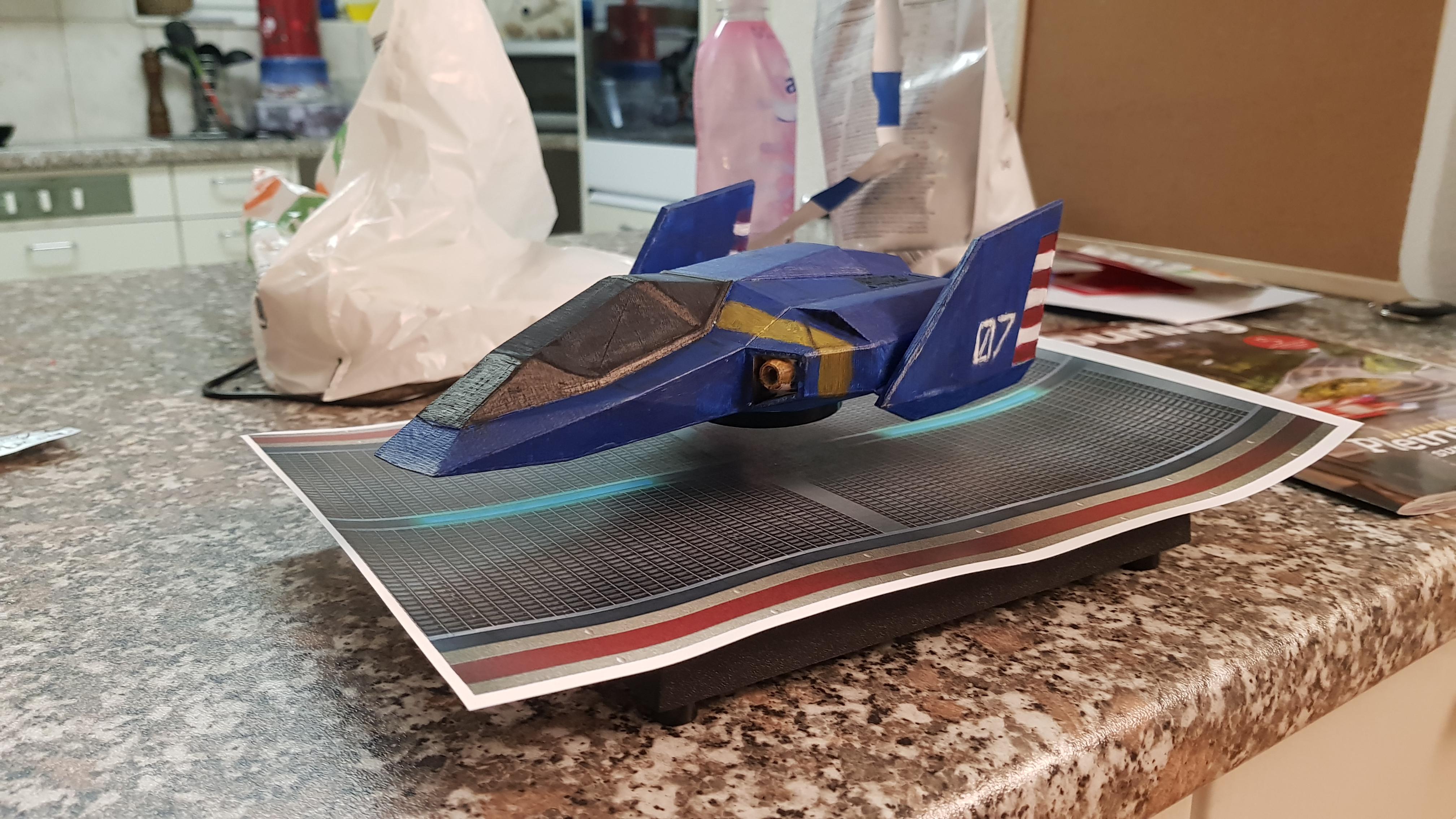 F-Zero : BlueFalcon flottant 20190204_203435