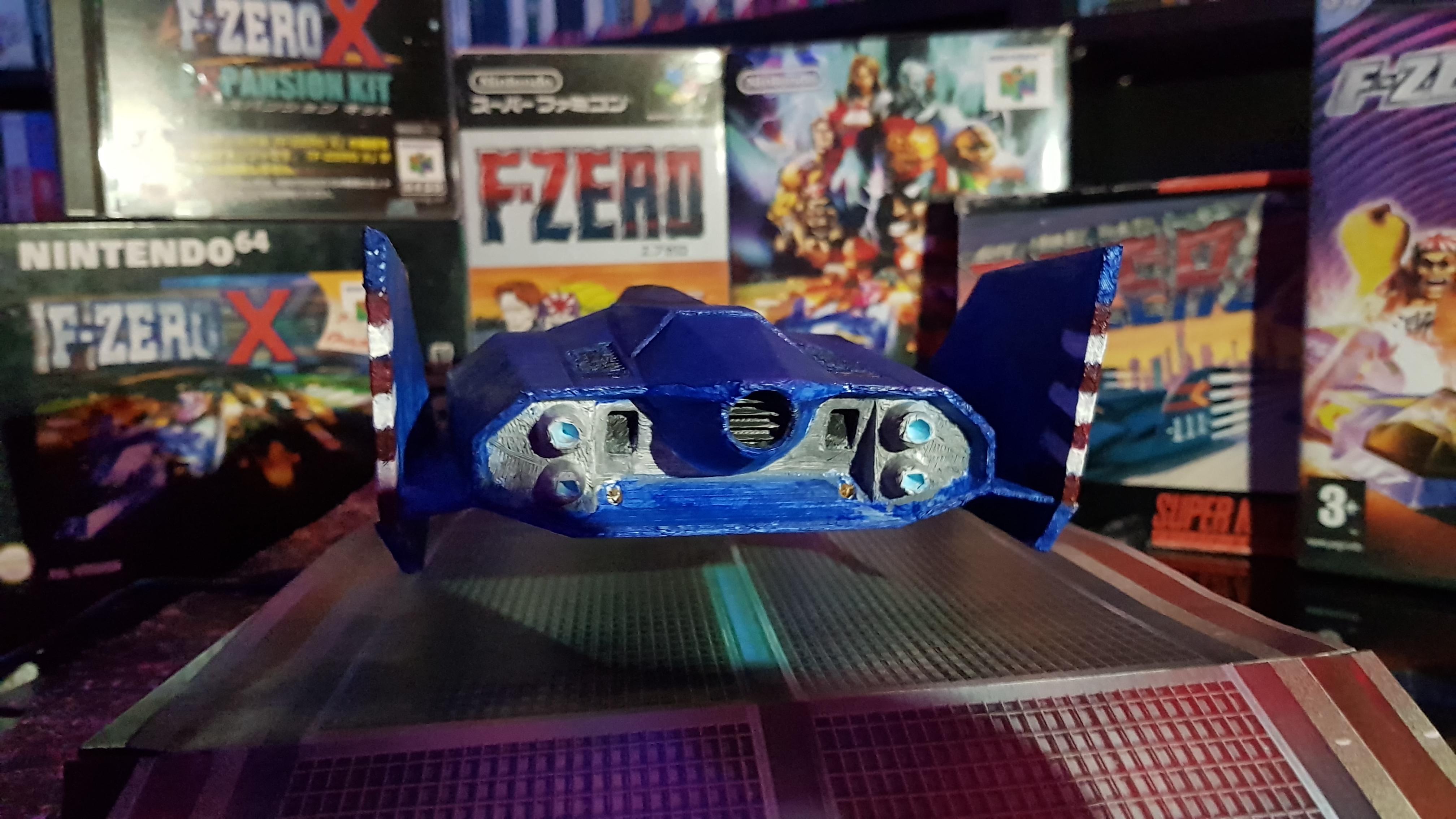 F-Zero : BlueFalcon flottant 20190205_211921