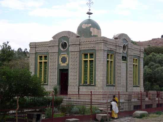 Éthiopie : Quel secret renferme la mystérieuse église de Sainte-Marie-de-Sion ? Ark_of_the_Covenant_church_in_Axum_Ethiopia