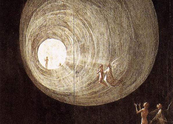 Témoignages sur les expériences de mort imminente (NDE, EMI) : Le grand retour Ascent_of_the_Blessedcreativecommons-wikipedia