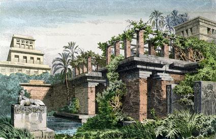 Les mythiques jardins suspendus de Babylone auraient bien existé… mais ailleurs Les-jardins-suspendus-de-babylone