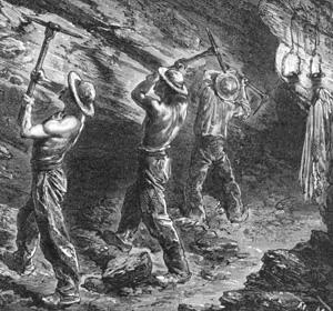 Documents historiques antérieurs à 1820, faisant mention d'anomalies archéologiques. Mineurs
