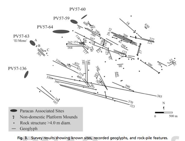 Pérou : découverte de lignes plus anciennes que celles des Nazcas Paracas-lignes