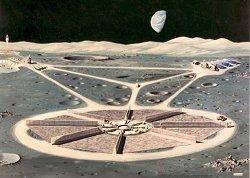 Exploração da Lua, por ora somente ficção 020130151030-reator-nuclear-espacial-5