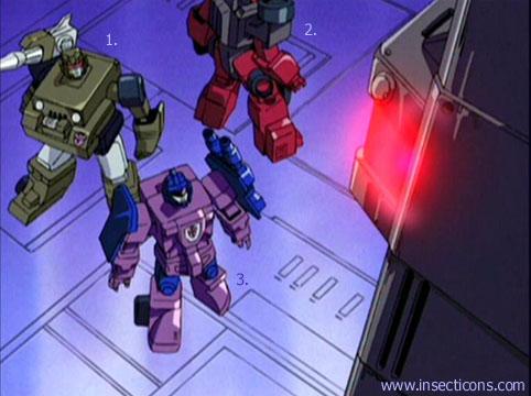 Transformers (G1 us, G1 japonais et Beast Wars) vu dans le générique de Transformers Armada S-Npcs-01