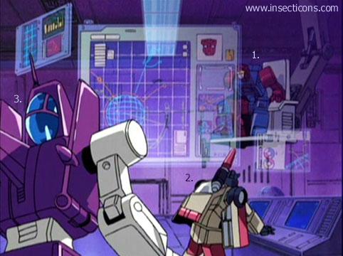 Transformers (G1 us, G1 japonais et Beast Wars) vu dans le générique de Transformers Armada S-Npcs-02