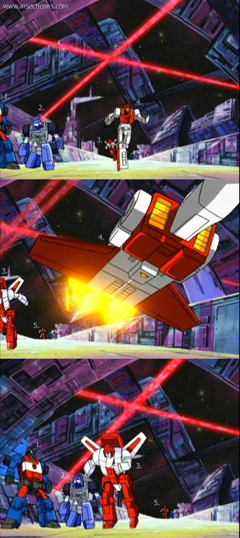 Transformers (G1 us, G1 japonais et Beast Wars) vu dans le générique de Transformers Armada S-Npcs-03