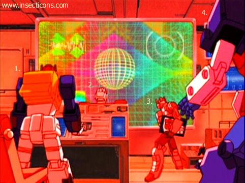 Transformers (G1 us, G1 japonais et Beast Wars) vu dans le générique de Transformers Armada S-Npcs-05
