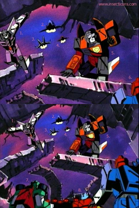Transformers (G1 us, G1 japonais et Beast Wars) vu dans le générique de Transformers Armada S-Npcs-06