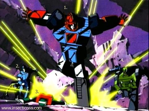 Transformers (G1 us, G1 japonais et Beast Wars) vu dans le générique de Transformers Armada S-Npcs-08