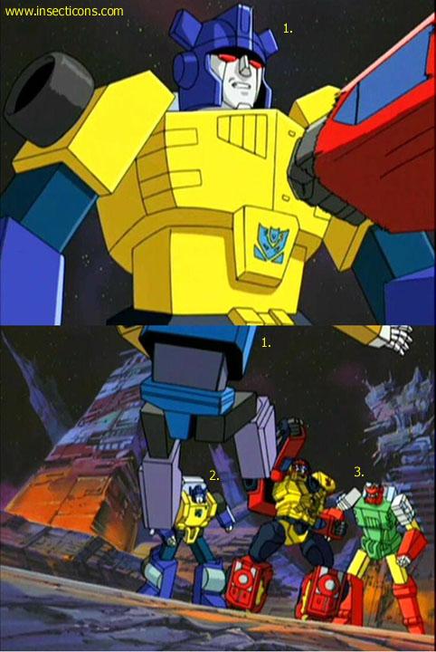 Transformers (G1 us, G1 japonais et Beast Wars) vu dans le générique de Transformers Armada S-Npcs-19