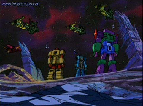 Transformers (G1 us, G1 japonais et Beast Wars) vu dans le générique de Transformers Armada S-Npcs-21