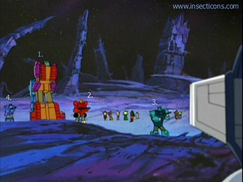 Transformers (G1 us, G1 japonais et Beast Wars) vu dans le générique de Transformers Armada S-Npcs-24