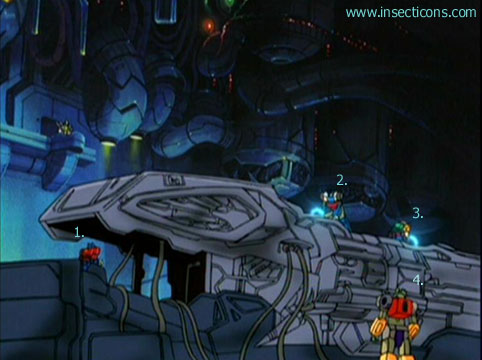 Transformers (G1 us, G1 japonais et Beast Wars) vu dans le générique de Transformers Armada S-Npcs-25