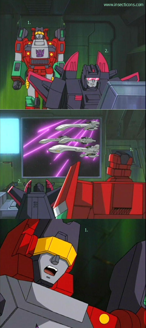 Transformers (G1 us, G1 japonais et Beast Wars) vu dans le générique de Transformers Armada S-Npcs-27