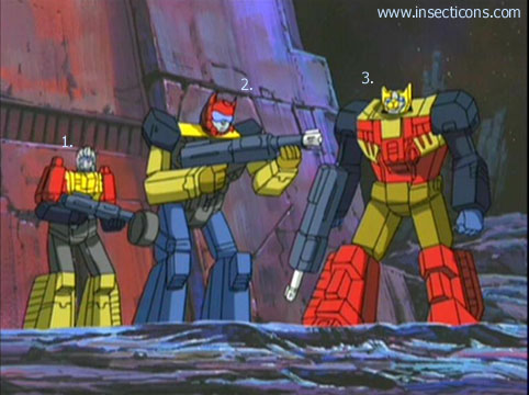 Transformers (G1 us, G1 japonais et Beast Wars) vu dans le générique de Transformers Armada S-Npcs-29