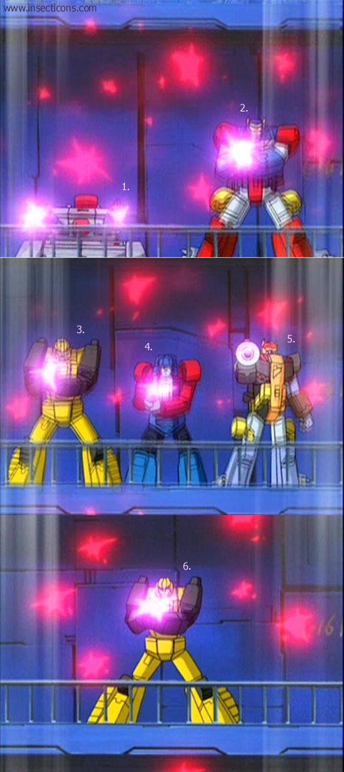 Transformers (G1 us, G1 japonais et Beast Wars) vu dans le générique de Transformers Armada S-Npcs-33