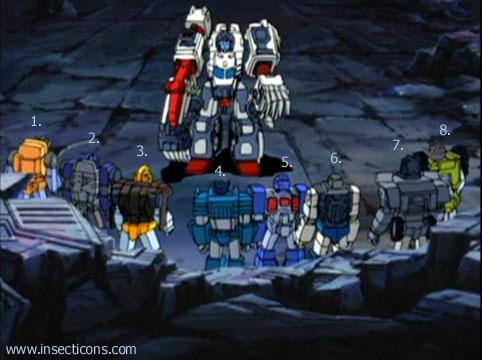 Transformers (G1 us, G1 japonais et Beast Wars) vu dans le générique de Transformers Armada S-Npcs-42