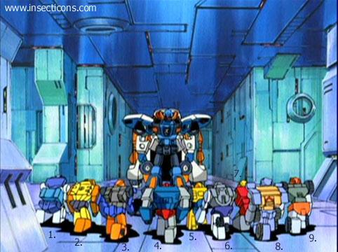 Transformers (G1 us, G1 japonais et Beast Wars) vu dans le générique de Transformers Armada S-Npcs-43