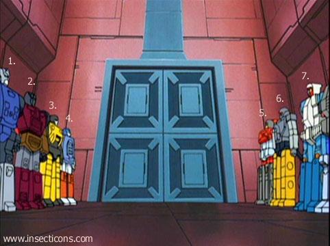 Transformers (G1 us, G1 japonais et Beast Wars) vu dans le générique de Transformers Armada S-Npcs-49