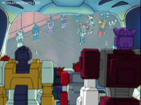 Transformers (G1 us, G1 japonais et Beast Wars) vu dans le générique de Transformers Armada S-Npcs-51