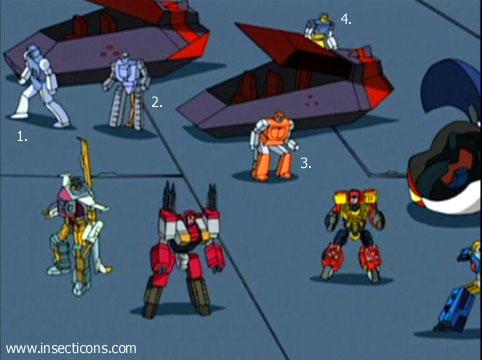 Transformers (G1 us, G1 japonais et Beast Wars) vu dans le générique de Transformers Armada S-Npcs-57