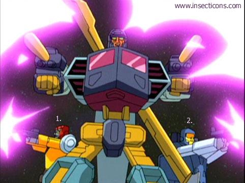 Transformers (G1 us, G1 japonais et Beast Wars) vu dans le générique de Transformers Armada S-Npcs-58