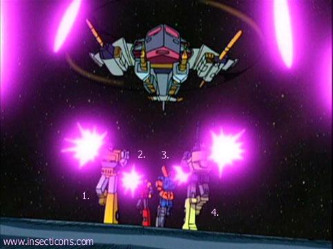 Transformers (G1 us, G1 japonais et Beast Wars) vu dans le générique de Transformers Armada S-Npcs-60