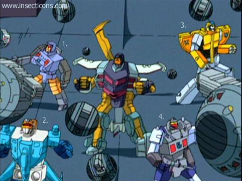 Transformers (G1 us, G1 japonais et Beast Wars) vu dans le générique de Transformers Armada S-Npcs-63