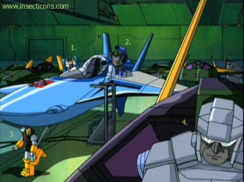 Transformers (G1 us, G1 japonais et Beast Wars) vu dans le générique de Transformers Armada S-Npcs-66