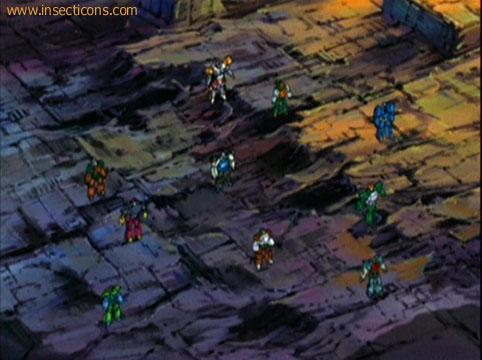 Transformers (G1 us, G1 japonais et Beast Wars) vu dans le générique de Transformers Armada S-Npcs-71