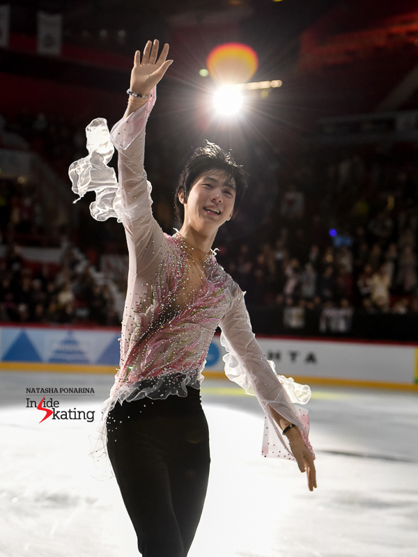 Юзуру Ханю / Yuzuru HANYU JPN - 2 - Страница 3 OPENING-Yuzuru-Hanyu-exhibition-2018-Grand-Prix-of-Helsinki